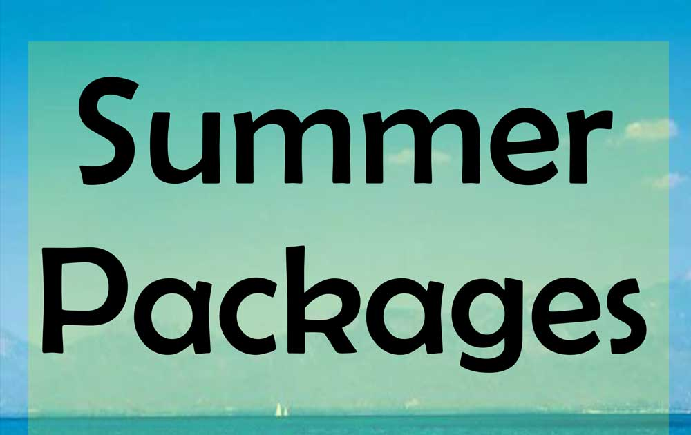Summer Packages 2017
